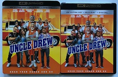 Uncle Drew 4K Ultra Hd Blu Ray 2 Disc Set + Slipcover Sleeve Free World Shipping