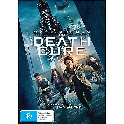 Death Cure - The Maze Runner Dvd, New & Sealed, Region 4, Free Post