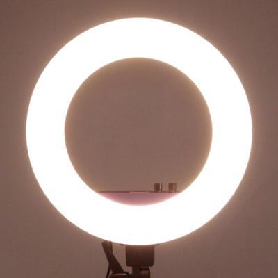 """18"""" LED Ring Light 50W 5500K Dimmable Continuous Lighting Photo stand Useful #w"""