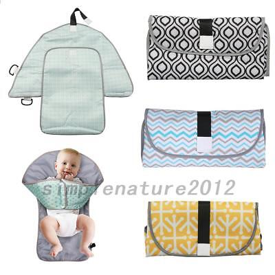 Waterproof Baby Diaper Changing Mat Travel Home Change Pad Organizer Bag