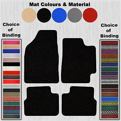 Tailored Velour Floor Mats For Fiat Bravo 2007 On (No Clips)