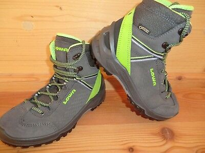 on feet at best sell watch LOWA ARCO GTX MID Junior anthrazit limone Gore-Tex ...