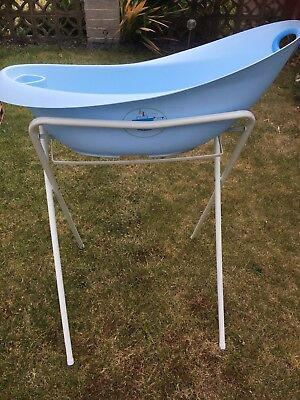 AQUA SCALE BABY bath with stand. - £20.00 | PicClick UK