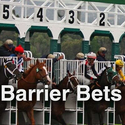 Barrier Horses - The Best Tool For Biased Horse Racing Tracks