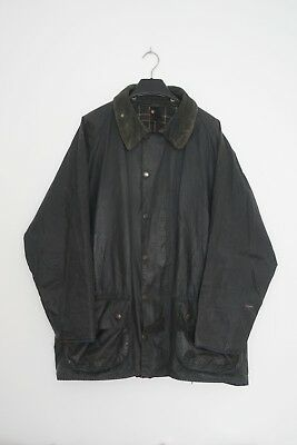 Barbour Beaufort Classic Navy Wax Cotton Jacket Size C46