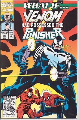 What If (1989-98) #44 Venom Had Possessed The Punisher Marvel 1992  /1309/
