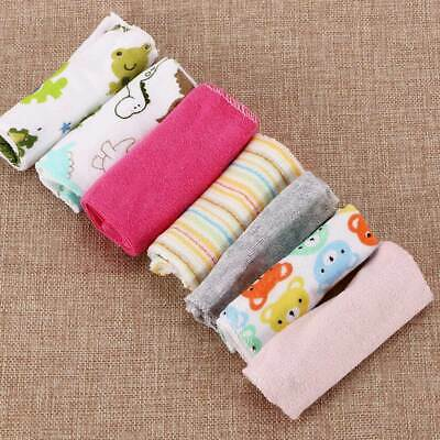8pcs/Pack Infant Bath Cotton Newborn Soft Baby Washcloth Feeding Wipe Towels