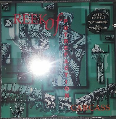 CARCASS Reek Of Putrefaction 1994 CD Earache Records Mosh 6 CD RARE/OOP Re-Issue