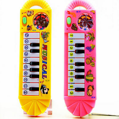 Baby Toddler Kids Musical Piano Developmental Toy Early Educational Game-v
