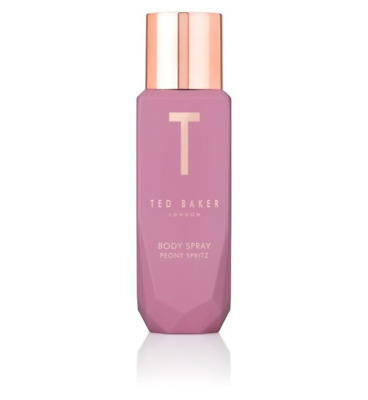 Ted Baker Peony Spritz Body Spray 150ml NEW Fast Free Post