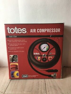 Totes Tire Shaped Air Compressor 260 Psi 1999 Picclick