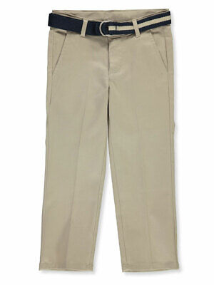 Nautica Boys' Belted Twill Pants