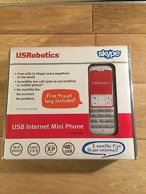 USB VoIP Skype Viber GVMATE ICQ Phone Telephone Handset Internet PC Computer red