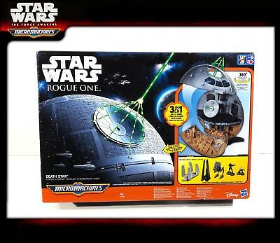 STAR WARS Micro Machines ROGUE ONE: Death Star Playset (OVP)