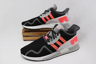 Adidas Originals EQT Cushion ADV Shoes Black White Pink Turbo AH2231 Men s  NEW cf519f5a4