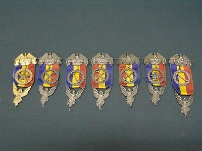 Unique & Rare Vintage Lot of 7 Medals from Ladies of the Golden Eagle~Ships Free