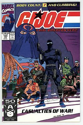 G.I. Joe A Real American Hero (1982) #109 NM 9.4