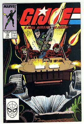 G.I. Joe A Real American Hero (1982) #72 NM 9.4