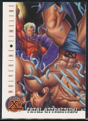 1996 X-Men Trading Card #86 Fatal Attractions