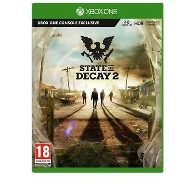 State of Decay 2 Xbox One Game Critically Acclaimed State Of Decay Franchise NEW