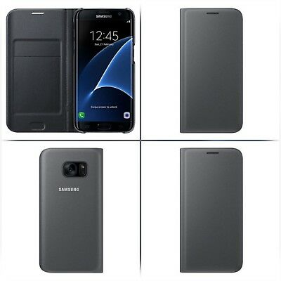 reputable site 8cb38 023a8 NEW CASE IT Cover for Samsung Galaxy S7 Edge Folio Case with Screen  Protector