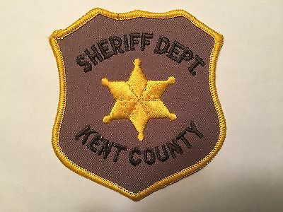 Kent County MICHIGAN Sheriff Patch