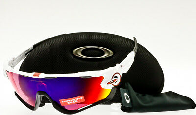 751143b9cda OAKLEY JAWBREAKER CYCLING SUNGLASSES Polished White-Prizm Road OO9290-05