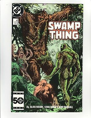 Swamp Thing #47 - Alan Moore Story - 9.4 Near Mint! HIGH GRADE!