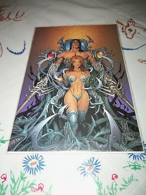 Image Comics WITCHBLADE #54 Dynamic Forces Virgin Cover 0569/1500 NM+ LOOK!