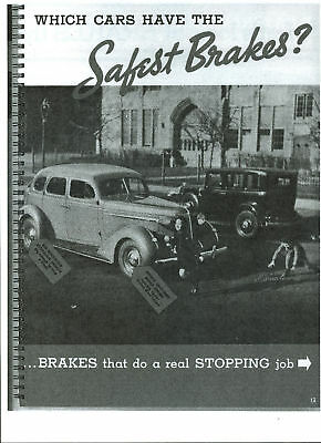 1937 Nash dealer-only X-ray book.  59 pages. Photocopy.