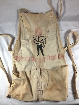 Vintage Nail Apron GPI Shop Workshop Apron
