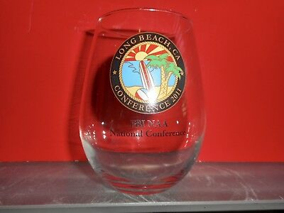 F.b.i. Naa Glass From 2011 National Conference Held In Long Beach, Ca - No Box