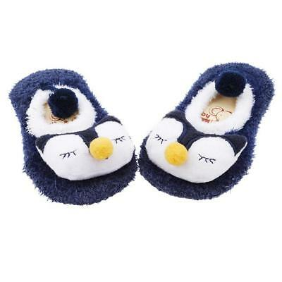 Cartoon Newborn Baby Girl Boy Anti-Slip Socks Slipper Shoes Boots C