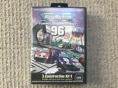 BOX ONLY Micro Machines Turbo Tournament 96 - Megadrive Box Only