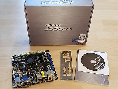 ASRock E350M1 AMD A50M So.FM1 Dual Channel DDR3 Mini-ITX, 4GB Ram