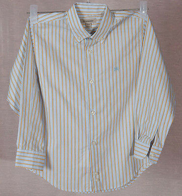 BURBERRY LONDON  Long Sleeve Shirt  4 Y-104 cm 100% AUTHENTIC