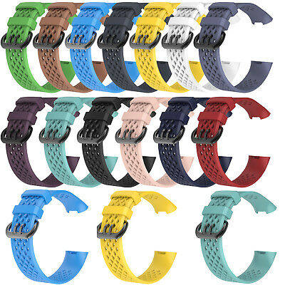 Adjustable Sports Wrist Band Straps for Fitbit Charge 3 Fitness Activity Tracker