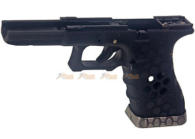 AW CUSTOM HEX Cut Grip Set for WE AW G17 Airsoft Toy GBB