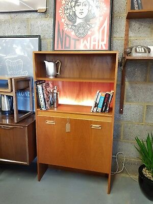 Mid Century Vintage Bookcase Drinks Cabinet by G Plan - Delivery - London SE15