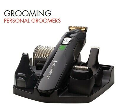 Remington Cordless Beard Hair Clipper Trimmer Mens Grooming Kit Rechargeable NEW