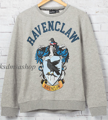 Ravenclaw House Crest Harry Potter Ladies Girls Sweater Sweatshirt