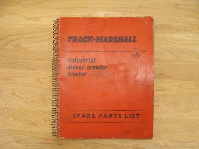 track marshall 55 diesel crawler tractor instruction service rh picclick co uk Ford Workshop Manuals Workshop Manuals Oilfield Well Testing