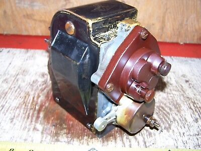 Old SPLITDORF DIXIE 462-C EAGLE Tractor Hit MIss Engine Magneto Steam Oiler Farm