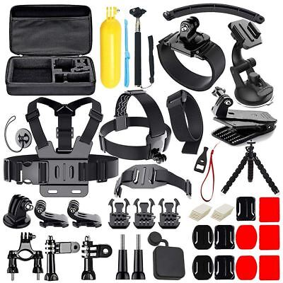 50 in 1 Action Camera Accessories Kit for GoPro Hero 2018 GoPro Hero6 5 4 3 C Z9