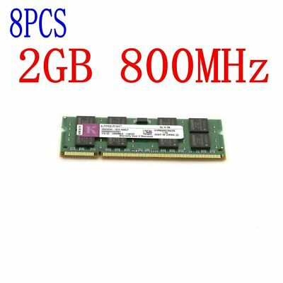 16GB 8GB 4GB 2GB PC2-6400S SODIMM KVR800D2N6/2G CL6 Laptop RAM For Kingston LOT