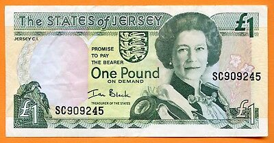 The States Of Jersey 1 Pfund. (B016)