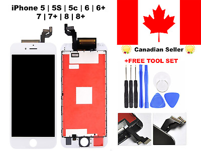 LCD Touch Screen Digitizer Replacement For iPhone 7 8 Plus 4 5 5s 5c 6 6s