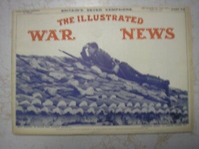 1915 April 28 Illustrated War News Part 38 - Britain's Seven Campaigns Complete