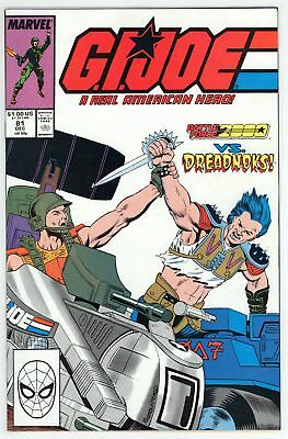 G.I. Joe A Real American Hero (1982) #81 NM- 9.2