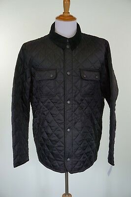 Barbour Tinford Quilted Jacket Size XL Black New